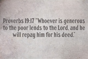 loaning to God